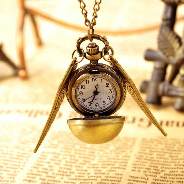 2014 New Fashion Vintage Bronze Punk Steampunk Quartz Pocket Watch Steam Train Pendant Chain Necklace Clock #7 19801(China (Mainland))