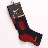 Free Shipping! NIKE-professional elite sports men socks Leisure men sock Brand Socks for men. (4 pieces = 2 pairs)