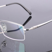 2014 NEW Designer High Quality JA Brand 36012 Fashion 100% Pure Titanium Eyeglasses Optical Frame Half Eyeglasses Frame