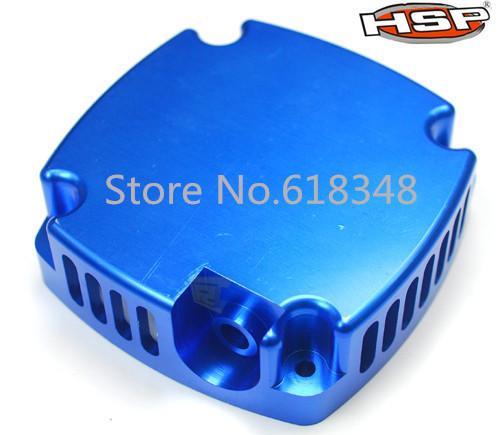 HSP Upgrade Parts Aluminium Engine Cover 050034 1/5 Scale Racing Gas Power Hobby MUMMYER BLUE ROCKET(China (Mainland))