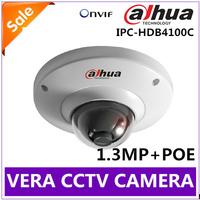 2014 NEW Dahua IP Camera IR Super Mini 1.3MP 720P Full HD 1.3Megapixel IP66 & IK10 CCTV Camera System IPC-HDB4100C POE