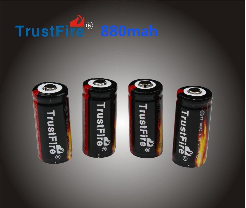 hotccr123 cr123a аккумулятор trustfire 16340 880mah