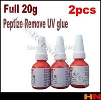 2pcs full 20g Dispergator Cleanser for removing remove UV (ultraviolet) glue/adhesive LOCA, LCD refurbishment faster shipping
