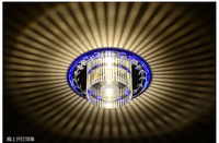 LED crystal ceiling lamp Aisle  light Corridor /entrance/ hallway lights balcony lamps luminaire  ceiling lamps free shipping