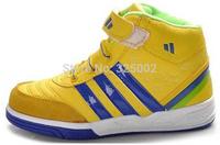 HOT!!! 2014 Spring New Fashion Basketball Running Children Boots Super Luminous Boys / Girls Children Shoes Kids Sneakers
