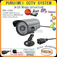 1280x720 720P Megapixel(1280x720) IR Network IP Camera with IR-Cut 36 IR LEDs Night vision outdoor Waterproof onvif plug &play !