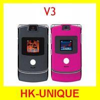 Original unlocked Motorola Razr V3 cell phones 100% good quality one year warranty free shipping