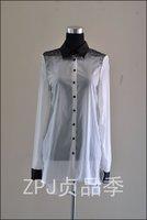 Cop.copine summer Long sleeve casual shirt Shirts dress one-piece dress