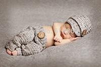 free shipping,Gray newsboy modelling Hat And  Pants baby Set Newborn handmade crochet Photography Prop,100% cotton