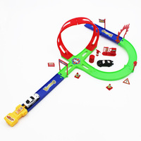 Wholesale for kids alloy car model car plastic toy  sport toys track slide f1 racing dump truck educational new 2014 boy