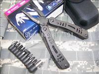 original GANZO 3029PB multifunctional tool pliers/stainless steel folding camping knife combination plier
