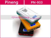 Original Pineng Power Bank 10000mAh PN-913 Portable Universal USB Powerbank For Lenovo S820 S960 Tablet PC With Retail Box/Black