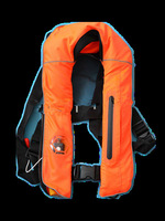 Super quality  CE MED certified ISO12402-3 Adult Manual Inflatable life jacket 150N with free shipping