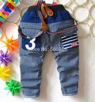 boy jeans pant kid denim trousers for 1-4 years 4pcs/lot