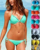 2014 New style Sexy Fashion Bikini swimwear women Beach swimwear bikini  5color swimsuit free shipping