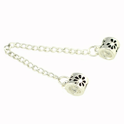 High Quality 925 Silver Safety Chain,European Beads Safety Chain Fit pandora charms Bracelets , BSC1(China (Mainland))