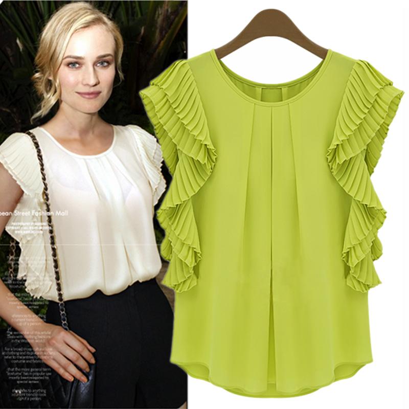 Женские блузки и Рубашки New Brand Blusas S/M/L/XL женские блузки и рубашки brand new s l 36