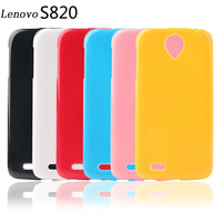 Lenovo S820 Case New 2014 High Quality Android Cell Phones Cases for Lenovo S820 Colorful Soft TPU Gel Protective Back Covers