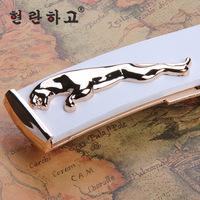 Fashion Belts 2014 New Leather  Unisex  Jaguar Belts  Brands designer Bel for women t High quality belts for men