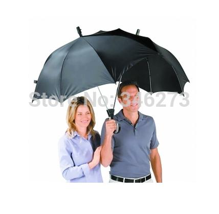 Multi color ultralarge lovers umbrella violetta double sun protection waterfroof rain dualbrella / two person umbrella poleaxe(China (Mainland))