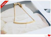 10$ free shipping loom 2014 simple fashion stainless steel bar bracelets Bangles women arm cuff