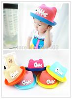 2014 New Arrive Summer Beach Children's Hat Boys Girls Fish Character Cute Hat