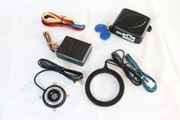 RFID invisible car alarm,passive keyless entry,immobilizer/release car engine,auto protection,bypass module,push start FS-55
