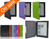 "Magnetic Auto Sleep Leather Case For kobo aura 6"" 6.0 inch eReader Color"