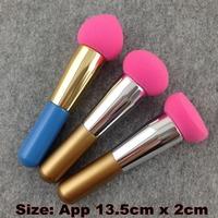 3 Pcs/Lot Cosmetic Makeup Brushes Liquid Cream Foundation Sponge Brush Cosmetic Puff + Free Shipping
