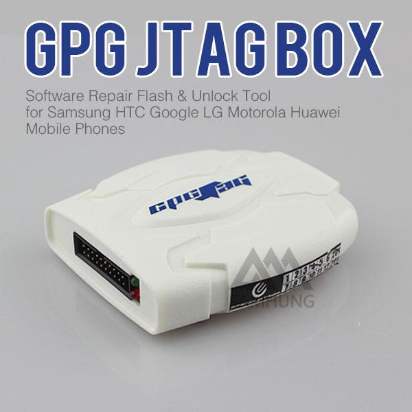 Fast Shipping GPG Jtag Box - Software Repair Flash & Unlock Tool for Samsung HTC Google LG Motorola Huawei Mobile Phones(China (Mainland))