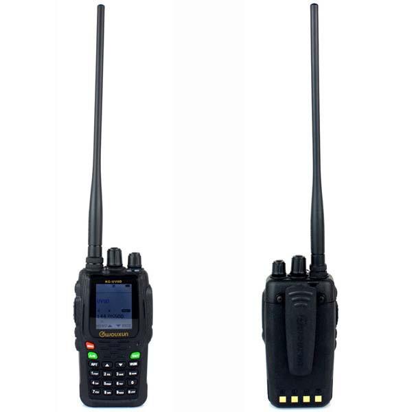 Wouxun Portable Radio Walkie talkie KG-UV8D VHF+UHF Dual Band 5W 999 CH VOX Duplex Cross-Band Repeating Two Way Radio A7110A(China (Mainland))