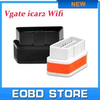 100% Original Vgate WiFi iCar 2 OBDII ELM327 elm 327 iCar2 wifi vgate OBD diagnostic interface for IOS iPhone iPad Android PC