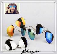 2014 World Cup Hot Frog Mirror Sunglasses Aviator Sunglasses Vintage Eye glasses Women & Men Fashion Brand Designer Sunglasses
