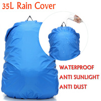 Free shipping,35Lcolor rain cover,travel Backpack Rain Cover Bag Water Resist Proof,waterproof rain cover for bags,Anti sunlight