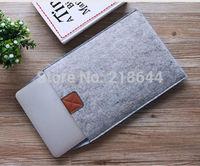 Pop Fashion11.6  13.3 15.4 inch  Woolen Felt Laptop Sleeve laptop cover case Envelope Bag  For Macbook air pro retina