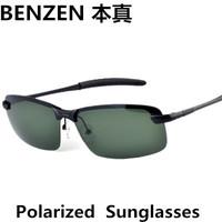 2014 Men sunglasses Classic Polarized  sun glasses  3043 driver driving  glasses  UV 400  eyewear  with case black 2015A