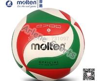 2014 Molten Volleyball ball  V5M2700 High Quality PU Laminated 18 Panels soft touch Offical Size 5 Match VolleyballTraining ball