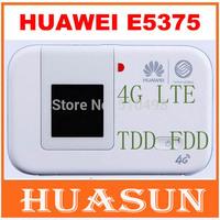 Original Unlocked Huawei E5375 4G LTE Wifi Router 150Mbps TDD FDD Mobile Hotspot free shipping