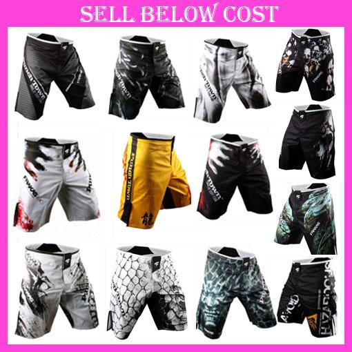 wholesale free shipping Brand MMA Fight Shorts Trunks Martial Arts Wear Pretorian Boxing Sanda Shorts Muay Thai()