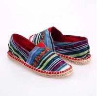 New 2014 fashion alpargata canvas shoes for women