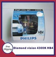 Orignal germany diamond vision 4300K HB4 9006DV Halogen Bulbs auto bulb headlight bulb free shipping