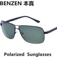 2014 Men sunglasses  Polarized  sun glasses  driver driving  glasses  eyewear with case black 2022A