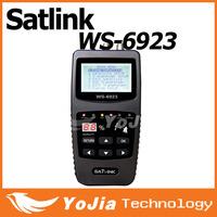Original Satlink 6923 DVB-S FTA C&KU Band Digital Satellite Finder Meter WS6923 with 2.1 Inch LCD Display  Satlink WS-6923