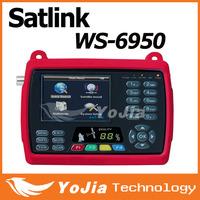 "1pc Original Satlink WS 6950 3.5"" Digital Satellite Signal Finder Meter WS6950 WS-6950  Free Shipping"