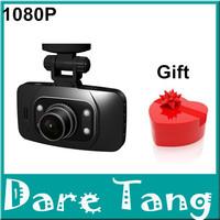 1 free gife+Car Camera full hd DVR GS8000L 1920*1080P 140 degrees wide Angle 2.7inch LCD G-Sensor HDMI Free Shipping H18B