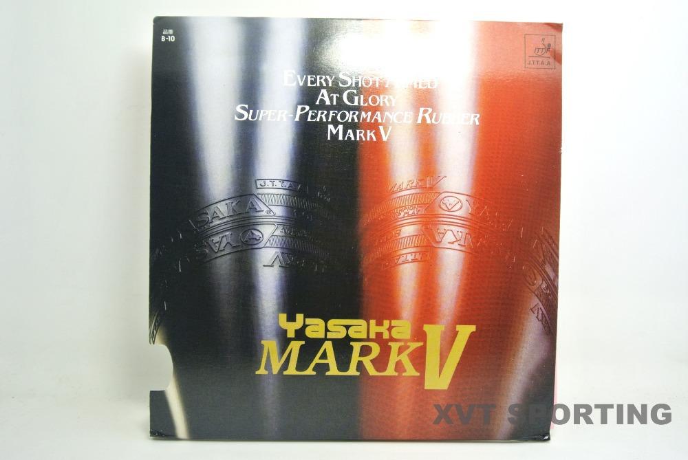 On sale Japanese YASAKA Mark V Table Tennis rubber / Table Tennis Cover , 2 pcs/lot Free Shipping(China (Mainland))