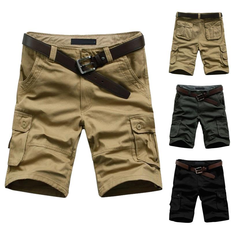 2014 Hot Sale Summer Men's Army Cargo Work Casual Bermuda Shorts M