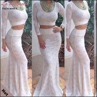 Brand New Euro Style Women Long Dresses 2014 Spring Fashion Maxi Dress Women Sexy 2 Pieces Elegant White Dress Plus Sizes