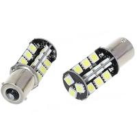 4 PCS 1156 27 SMD LED 27SMD 27LED 5050 CANBUS LED BA15S P21W Car Turn signal brake light