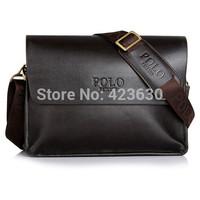 Mens Business Briefcase Messenger Leather Bag Men's Travel Bag Genuine Leather Handbags Vintage Ipad Shoulder Bags Party Gifts
